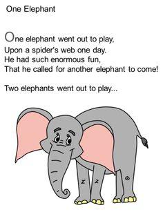 One Elephant poem
