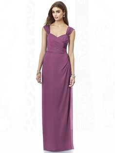 After Six Bridesmaids Style 6693 color: Radiant Orchid