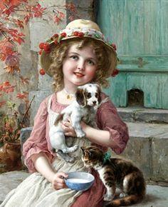 Emile Vernon (1872 – 1919, English)