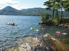 Lake George Camping, Mountains, Water, Travel, Outdoor, Gripe Water, Outdoors, Viajes, Destinations