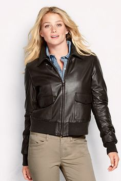 Womens Bomber Leather Jacket lTFuHR