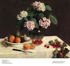 Fantin Latour Wall Art - Painting - Still Life Or La Table Garnie by Henri Fantin-Latour Henri Fantin Latour, Manet, French Paintings, Classic Paintings, Flower Paintings, Acrylic Paintings, Oil Paintings, Toledo Museum Of Art, Painting Still Life