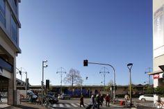via Piave, incrocio viale della Stazione