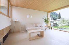 Einfamilienhaus in Österreich / Schmale Enfilade - Architektur und Architekten - News / Meldungen / Nachrichten - BauNetz.de