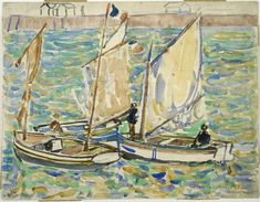 "Maurice Brazil Prendergast (1858-1924), ""St. Malo"" - The Phillips Collection ~ Washington, DC, USA"