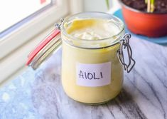 Aioli, Candle Jars, Tapas, Food And Drink, Dinner, Baking, Dressing, Dining, Food Dinners