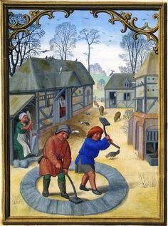 November - Da Costa Hours, in Latin Illuminated by Simon Bening (1483/84–1561)…