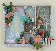 Beautiful Love Tray by Lynne using Lindy's Stamp Gang