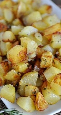 Golden Skillet Potatoes from Mels Kitchen Cafe! Use with your Natural Home Cooking Utensils