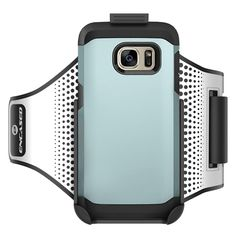 "Workout Armband for Spigen Tough Armor Case - Samsung Galaxy S7 EDGE (Sweat-resistant band) Encased Products (case is not included). Compatible only with the Spigen Tough Armor - Samsung Galaxy S7 EDGE, (Not compatible with the standard S7 version). COMFORTABLE - lightweight neoprene will form to the arm but will not stretch out of shape. Universal Fit: Armband is small enough to fit slim arms yet expands up to 14"". SAFETY: Highly reflective pattern provides nighttime jogging & running..."
