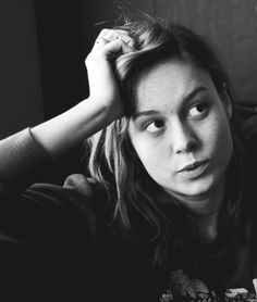Brie Larson. I think this photo perfectly encapsulates who she is as a person.