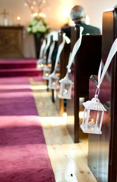 Love These Mini Lanterns Used As Aisle Accents Wedding Decor Rentals