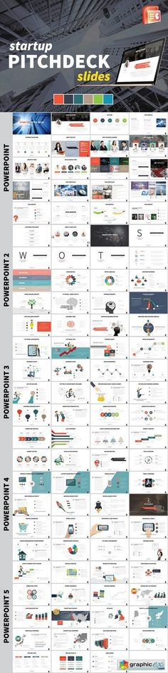 SlideRabbit What Should Be In a Pitch Deck? #presentations - elevator pitch template