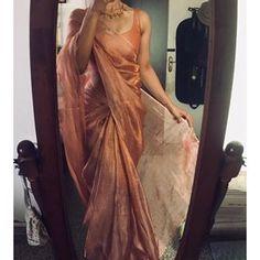 dresses made from sarees silk ~ dresses made from sarees dresses made from sarees party wear dresses made from sarees salwar kameez dresses made from sarees silk dresses made from sarees indian weddings Lehenga Designs, Kurta Designs, Saree Blouse Designs, Indian Blouse Designs, Mehndi Designs, Dress Indian Style, Indian Fashion Dresses, Designer Indian Dresses, Indian Look