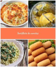 Tartiflette de carottes : Savoureuse et équilibrée | Fourchette & Bikini Calories par portion : 196 kcal 1 kg de carottes 1 gousse d'ail 2 cuillères à soupe de fécule de maïs 40 cl de lait écrémé 2 pincées de noix de muscade 80 g de reblochon sel, poivre vegetarian recipes Tartiflette de carottes Portion, Bikini, Vegetables, Food, Skimmed Milk, Carrots, Pepper, Salt, Kitchens