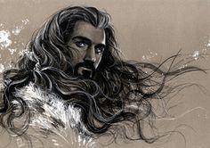 Thorin Oakenshield Art Print