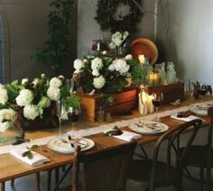 inspiring rustic christmas table setting 2 Rustic Christmas Table Ideas to Add Warmth into the House