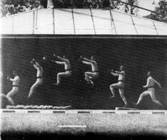 cronofotografia-Etienne-Jules-Marey-1886-areashootworld Motion Photography, History Of Photography, Gjon Mili, Giacomo Balla, Eadweard Muybridge, Photos, Wrestling, Concert, Sports