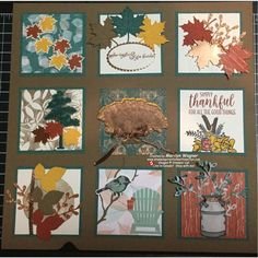 It's nice to have a number of different shadow box inserts to display in your home. This is my 2018 version of Fall! Paper Art, Paper Crafts, Paper Collages, Collage Frames, Craft Show Ideas, Fall Halloween, Shadow Box, Decor Crafts, Diy Gifts