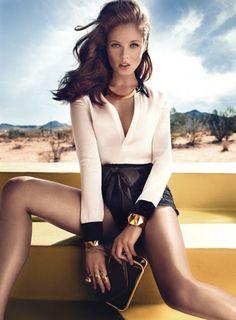 Sandrah Hellberg for Graff Diamonds Ad Campaign (Summer 2012)