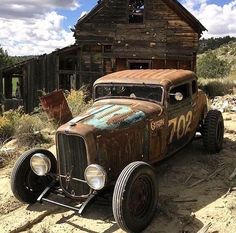 1932 Ford, Vegas Rat Rods, TV Show, Lake Bed Racer