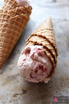 Roasted Strawberry Ice Cream - the best!!