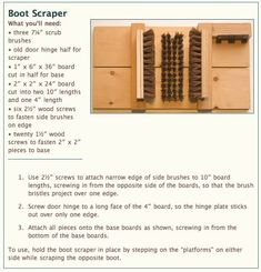 Here's a great winter project to get ready for the mud season that will be here before you know it. Check out The Project of the Week from ...