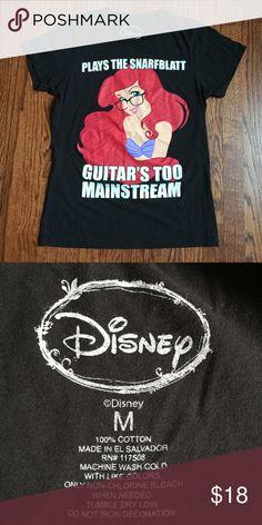 Hipster Ariel shirt Super cute Disney shirt! Like new condition!! Disney Tops Tees - Short Sleeve