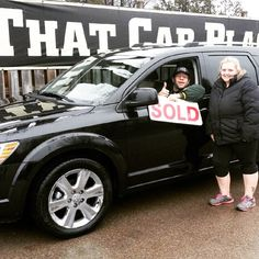 Happy happy happy family upgrading from a boring van to a fully loaded 2009 Dodge Journey R/T AWD loaded with leather, DVD, heated seats, backup camera. Only has 53,000km. Purchased from That Car Place in London, Ontario ! #happy #family #customer #customerservice #sold #loaded #lowkm #london #ontario #thatcarplace #thankyou #awd #backup #leather #dvd #upgrade #usedcardealer #testimonials #satisfied