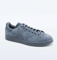 new product dbbb4 9c8fa adidas Originals Stan Smith Suede Onyx Trainers
