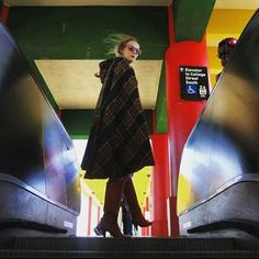 @natalierotman looking chic and ready for fall in Shareen vintage #shareenvintage #regram #fall #plaid #shareendotcom