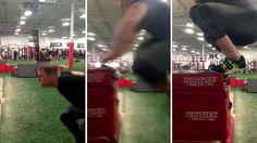 NFL's JJ Watt makes incredible 5-foot vertical leap for Reebok | Daily Mail Online