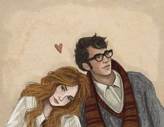 Lily and James by jennapaddey