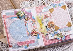 Graphic45 mini album/Мини-альбом для девочки