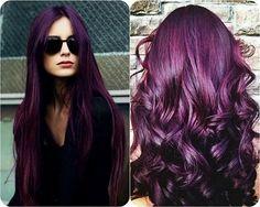 Cool Purple Hair Color 2016: 2016 Purple Hair Color Ideas