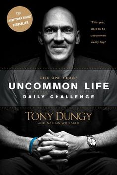 The One Year Uncommon Life Daily Challenge by Tony Dungy, http://www.amazon.com/dp/1414348282/ref=cm_sw_r_pi_dp_k5yzrb01V13XJ
