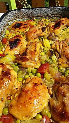 Meat Recipes, Real Food Recipes, Chicken Recipes, Dinner Recipes, Cooking Recipes, Healthy Recipes, Smoothie Fruit, Food Lab, Pub Food