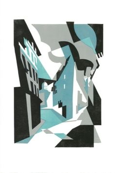 Paul Catherall is a London born printmaker and illustrator, exhibiting his bold linocuts of architectural landmarks at a solo exhibition at For Arts Sake Penguin Modern Classics, Propaganda Art, City Illustration, George Orwell, Expressions, Penguin Books, Environmental Art, Work Inspiration, Paintings