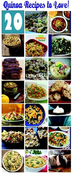 20 Quinoa Recipes to LOVE! |