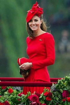 Good morning saved by sriram pictures pinterest morning images kate middleton wore a stunning scarlet alexander mcqueen dress to join the queen and prince william for the diamond jubilee pageant m4hsunfo