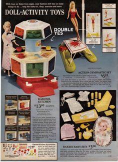 Christmas Catalogs, Christmas Books, Vintage Christmas, Christmas Gifts, Childhood Toys, Childhood Memories, Barbie Kitchen, Vintage Barbie Dolls, Barbie 80s