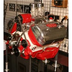 Ford Flathead V-8, Stephens OHV Hemi Heads - Museum of American Speed