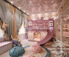 Teen Bedroom Designs, Room Design Bedroom, Home Room Design, Kids Room Design, Creative Kids Rooms, Cool Kids Rooms, Princess Bedrooms, Princess Room, Decorating Toddler Girls Room