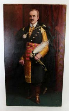 Oil on canvas portrait of a Polish Noble Man - Nov 2017 Leroy Neiman, Commonwealth, Coat Of Arms, Fashion Branding, Elegant Woman, Art Oil, Galleries, Oil On Canvas, Polish