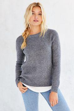 UNIF X UO Waffle Mix Sweater