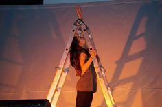 Alice as Martina in I Ninnoli di Vetro (The Glass Baubles). Ostiglia, 13 December 2014.