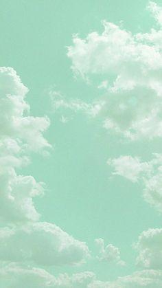 Mint Wallpaper, Aesthetic Pastel Wallpaper, Aesthetic Backgrounds, Green Backgrounds, Aesthetic Wallpapers, Wallpaper Patterns, Kawaii Wallpaper, Trendy Wallpaper, Aesthetic Stickers
