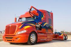 "Custom Big Trucks   ... Habit "" eye-popping show trucks is an understatement – a BIG one"