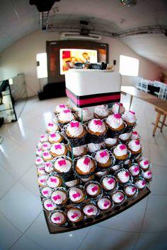 Torre de cupcake!