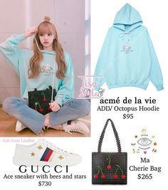 Many asked me for the necklace and..👀💕_____#BLACKPINK #블랙핑크 #LISA #리사 #LISAstyle #패션 #KANTIQUE14 Celebrity Fashion Outfits, Fashion Idol, Korean Girl Fashion, Estilo Fashion, Blackpink Fashion, Korean Street Fashion, Ideias Fashion, Cute Lazy Outfits, Pink Outfits
